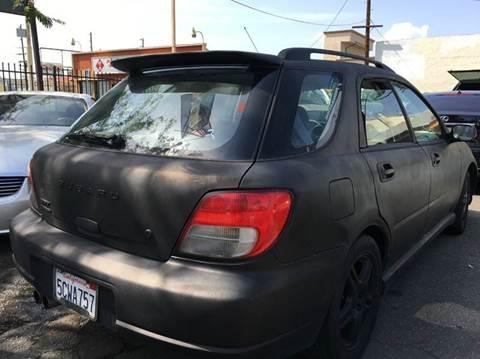 2003 Subaru Impreza for sale in Panorama City, CA