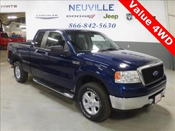 used ford trucks for sale in waupaca wi