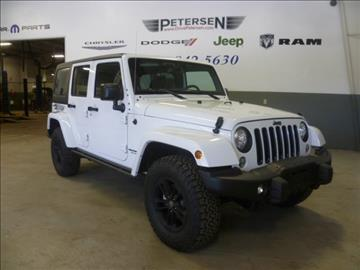 2017 Jeep Wrangler Unlimited for sale in Waupaca, WI