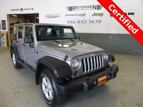 2013 Jeep Wrangler Unlimited for sale in Waupaca, WI