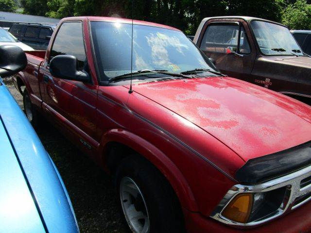 1994 CHEVROLET S-10 LS 2DR STANDARD CAB SB red abs - rear clock front seat type - split-bench