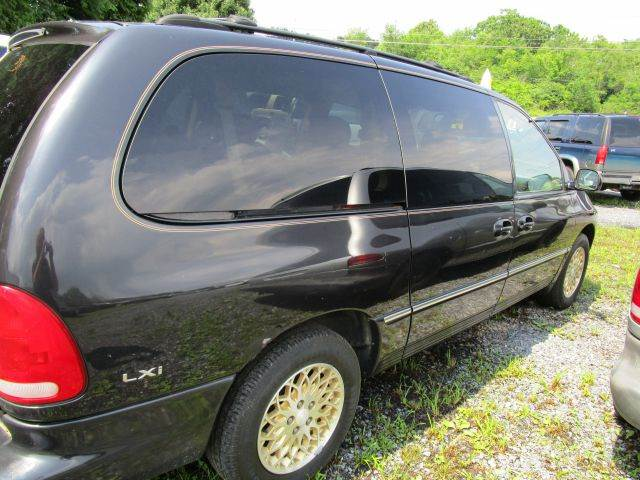 1998 CHRYSLER TOWN AND COUNTRY LXI 4DR PASSENGER VAN EXTENDED black abs - 4-wheel anti-theft sys