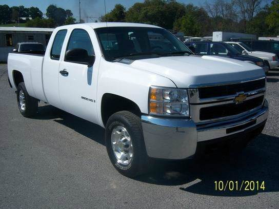 2008 CHEVROLET SILVERADO 2500HD LT1 2WD 4DR EXTENDED CAB LB white abs - 4-wheel air filtration