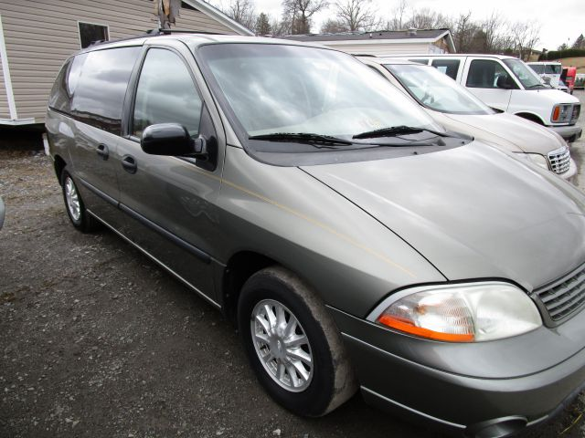 2003 FORD WINDSTAR LX STANDARD 4DR MINIVAN gold abs - 4-wheel captain chairs - 2 cassette cloc