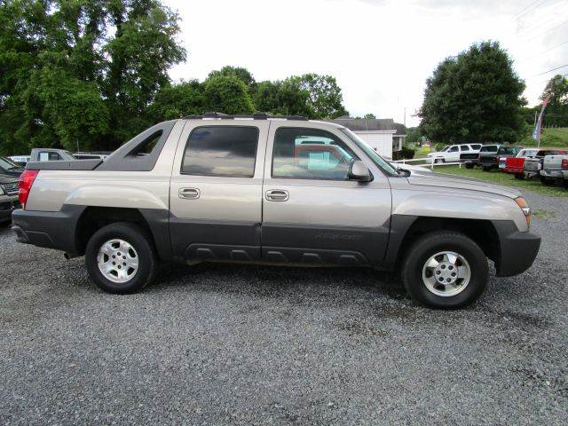 2003 CHEVROLET AVALANCHE 1500 4DR CREW CAB 4WD tan abs - 4-wheel air suspension - rear anti-the