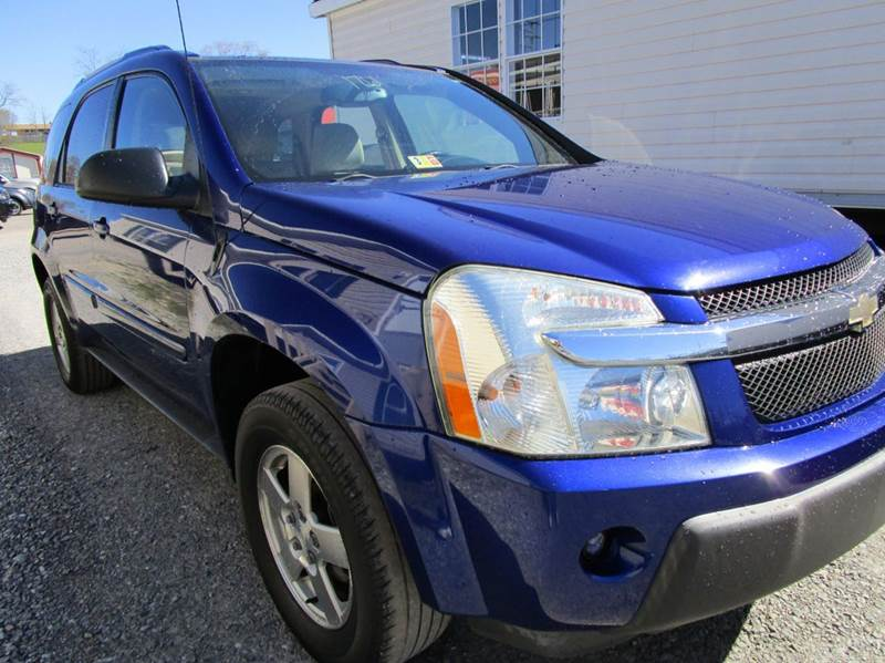2005 CHEVROLET EQUINOX LT 4DR SUV blue abs - 4-wheel amfmcdmp3 audio system anti-theft syste