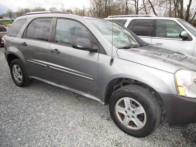 2005 CHEVROLET EQUINOX LS AWD 4DR SUV gray abs - 4-wheel anti-theft system - alarm center conso