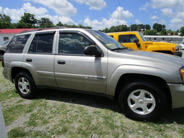 2002 CHEVROLET TRAILBLAZER LS 4WD 4DR SUV beige abs - 4-wheel anti-theft system - alarm axle ra