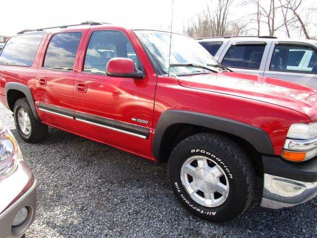 2001 CHEVROLET SUBURBAN 1500 LT 4WD 4DR SUV red abs - 4-wheel anti-theft system - alarm axle ra