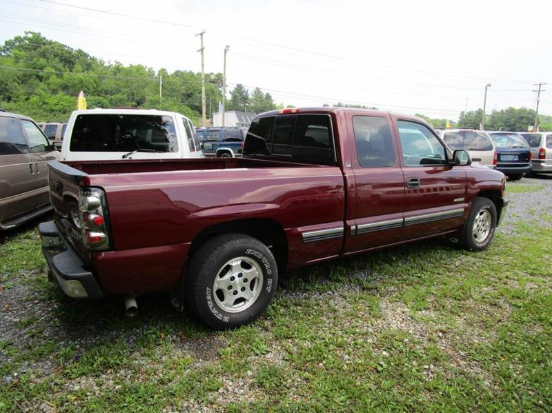 1999 CHEVROLET SILVERADO 1500 LS 3DR EXTENDED CAB SB burgandy abs - 4-wheel anti-theft system -