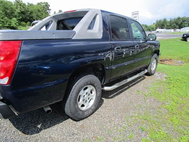 2004 CHEVROLET AVALANCHE 1500 4DR CREW CAB SB RWD blue abs - 4-wheel anti-theft system - alarm