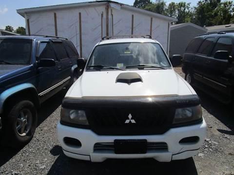 2000 mitsubishi montero sport for sale for Kent beck motors abilene