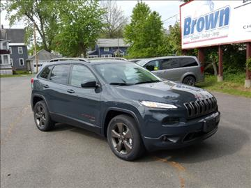 2016 jeep cherokee for sale for Brown motors greenfield ma service