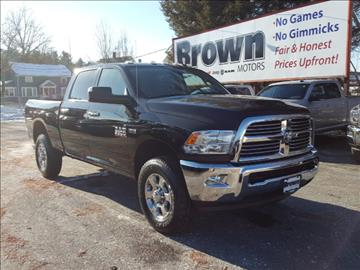 Ram ram pickup for sale gilbertsville pa for Brown motors greenfield ma service