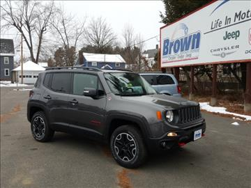 Jeep renegade for sale for Brown motors greenfield ma service