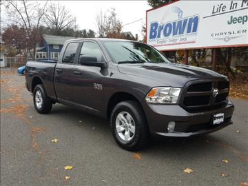 Ram ram pickup 1500 for sale greenfield ma for Brown motors greenfield ma service