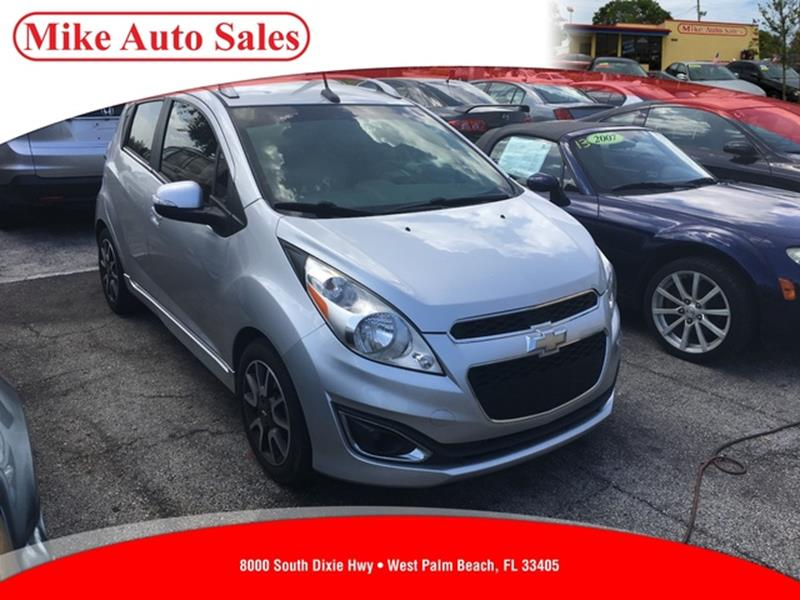 2014 Chevrolet Spark 2LT CVT 4dr Hatchback   West Palm Beach FL