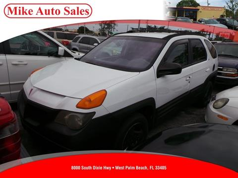 2001 Pontiac Aztek for sale in West Palm Beach, FL