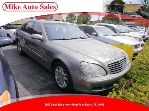 2003 Mercedes-Benz S-Class for sale in West Palm Beach, FL