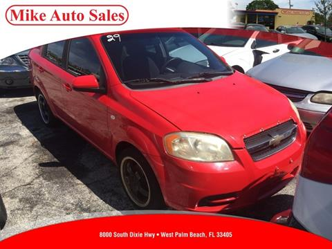 2007 Chevrolet Aveo for sale in West Palm Beach, FL
