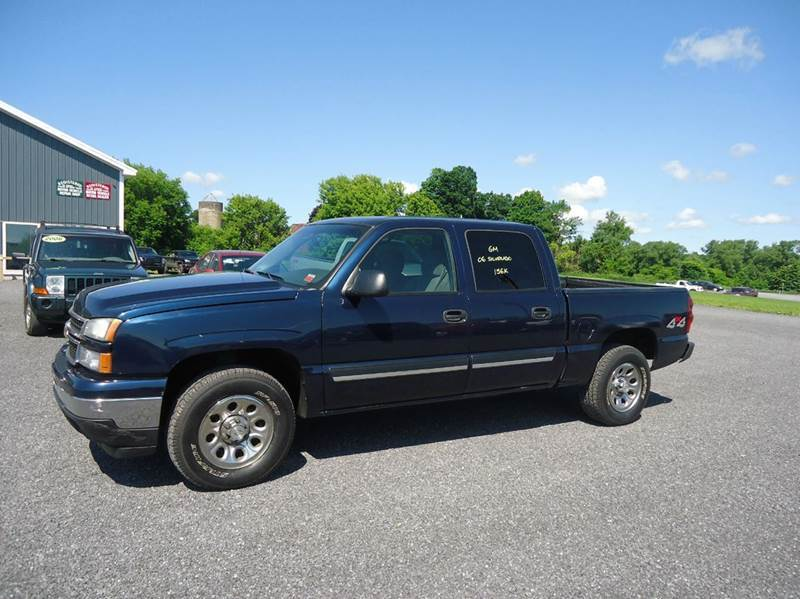 2006 chevrolet silverado 1500 lt1 4dr crew cab 4wd 5 8 ft sb in glenfield lowville old forge. Black Bedroom Furniture Sets. Home Design Ideas