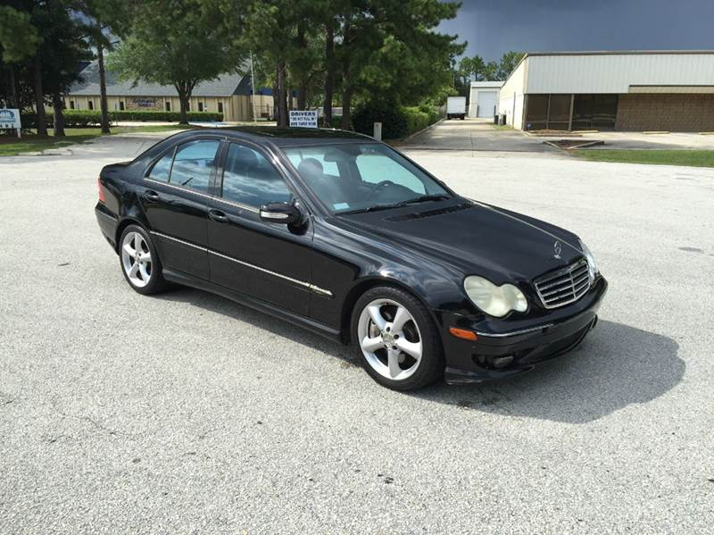 2005 mercedes benz c class c230 kompressor 4dr sedan in longwood fl global auto exchange. Black Bedroom Furniture Sets. Home Design Ideas