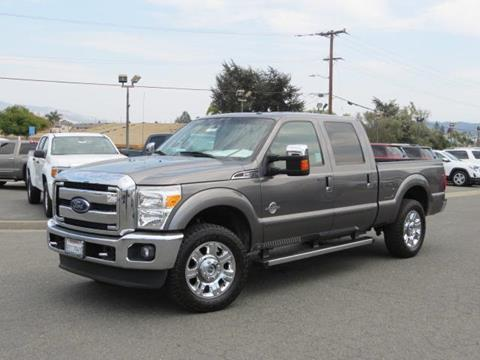 2013 Ford F-250 Super Duty for sale in Watsonville CA