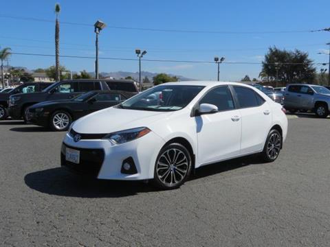 2015 Toyota Corolla for sale in Watsonville CA