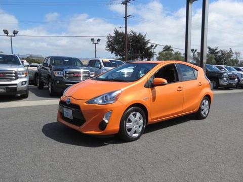 2015 Toyota Prius c for sale in Watsonville CA