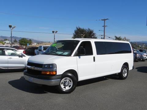 2015 Chevrolet Express Passenger for sale in Watsonville CA