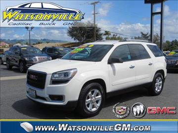 2014 GMC Acadia for sale in Watsonville, CA