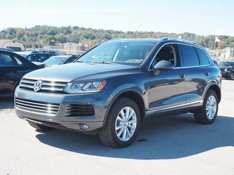 2013 Volkswagen Touareg for sale in Somerset, PA