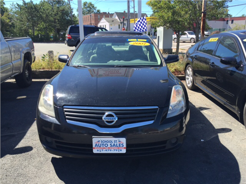 2007 Nissan Altima Hybrid for sale in Quincy, MA