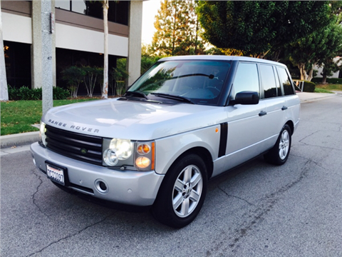 2005 land rover range rover for sale