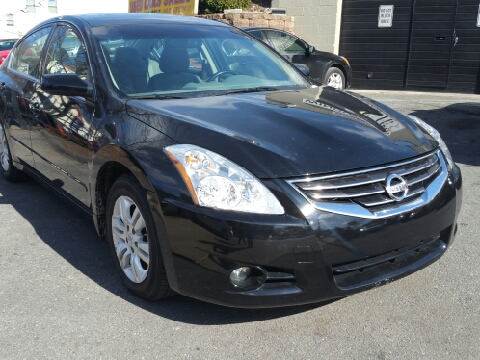 2012 nissan altima for sale in massachusetts. Black Bedroom Furniture Sets. Home Design Ideas