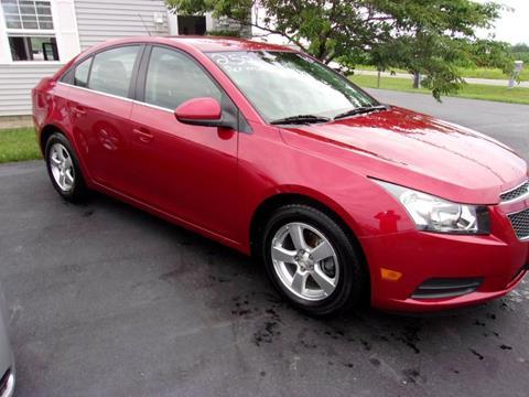 2012 Chevrolet Cruze for sale in Richmond, IN