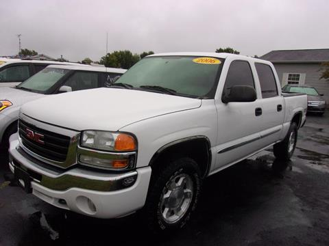used 2006 gmc sierra 1500 for sale in indiana. Black Bedroom Furniture Sets. Home Design Ideas