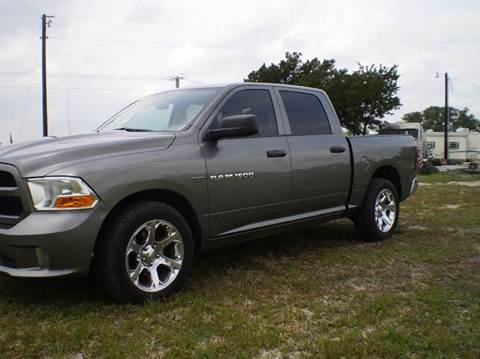 2012 RAM Ram Pickup 1500 for sale in Lampasas, TX