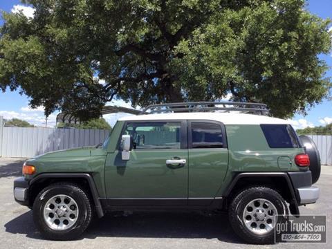 2013 Toyota FJ Cruiser for sale in San Antonio, TX