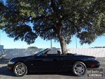 Used ford thunderbird for sale texas for Thunderbird motors san antonio tx