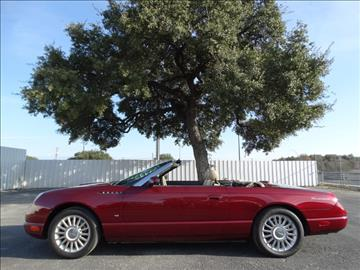 2004 ford thunderbird for sale san antonio tx