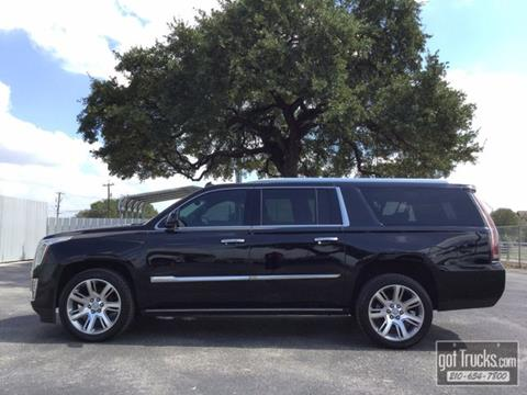 2015 Cadillac Escalade ESV for sale in San Antonio, TX
