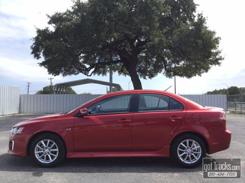 2016 Mitsubishi Lancer for sale in San Antonio, TX