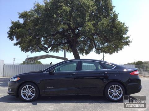 2016 Ford Fusion Hybrid for sale in San Antonio, TX