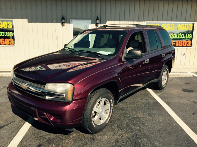 2006 CHEVROLET TRAILBLAZER LS 4DR SUV maroon buy here pay here abs - 4-wheel airbag deactivation