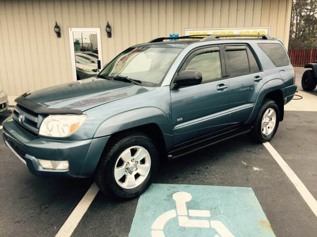 2004 TOYOTA 4RUNNER SR5 4DR SUV blue buy here pay here  - super clean  -  we finance - we make bu