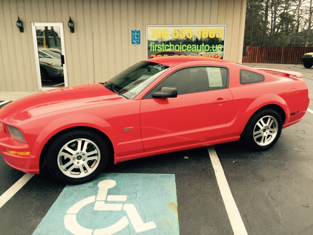 2005 FORD MUSTANG GT PREMIUM 2DR COUPE red buy here pay here  - we finance  -  we make buying eas