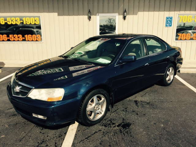 2002 ACURA TL 32 4DR SEDAN blue buy here pay here abs - 4-wheel anti-theft system - alarm cas