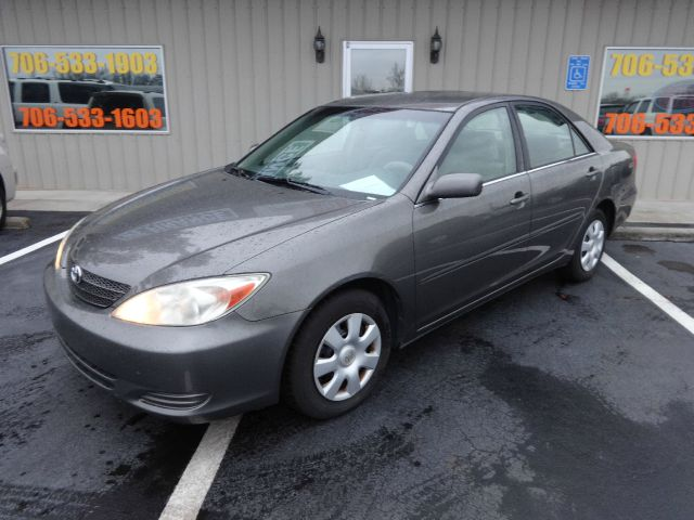 2003 TOYOTA CAMRY LE 4DR SEDAN grey buy here pay here front air conditioningcenter consolecruise