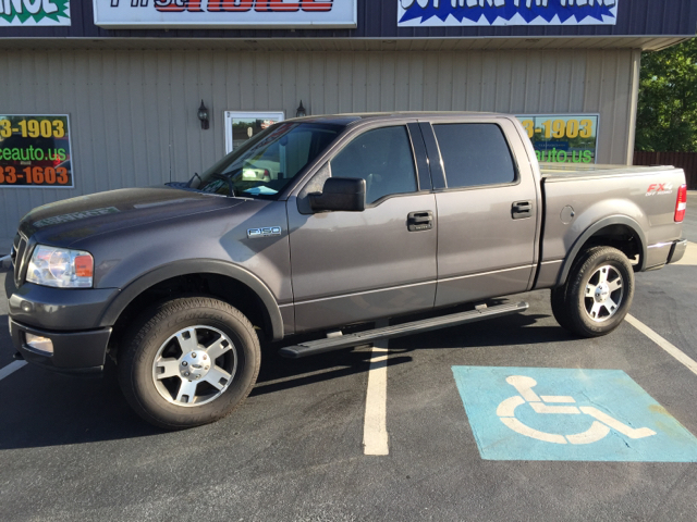 2004 FORD F-150 FX4 4DR SUPERCREW 4WD STYLESIDE grey abs - 4-wheel axle ratio - 355 bed extend